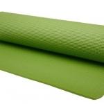 เสื่อโยคะ ขนาด 6mm สีเขียว แถม สายรัด+กระเป๋า