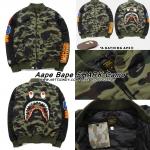 JACKET Aape Bape SHARK Camo 16ss -ระบุไซต์-