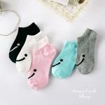 Smile socks ถุงเท้าแฟชั่น (3 คู่ 100 บาท)