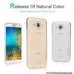 Samsung Galaxy E7 - เคสใส Nillkin Nature TPU CASE สุดบาง แท้