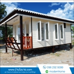 บ้านขนาด 3*5.5 ระเบียงหลังคาคลุม 1*3 เมตร ราคา210,000 บาท