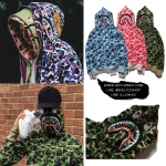 Jacket Hoodie BAPE® ACB SAHRK Full-zip -ระบุไซต์-