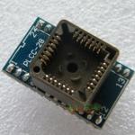 ซ็อคเกต PLCC28 to DIP24 Adapter / PLCC28 Socket IC Test Programmer Adaptor