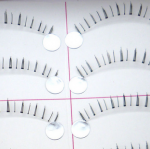 HX-15# ขนตาล่าง เอ็นใส (ขายปลีก) เเพ็คละ 10 คู่