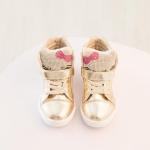 รองเท้าเด็กแฟชั่น สีทอง แพ็ค 5 คู่ ไซส์ 26- 27-28-29-30