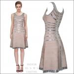 HV0938 / Preorder Herve Leger Dress Style พรีออเดอร์เดรสไตล์ Hervr Leger เดรสผ้ายืด ใส่สวยเน้นรูปร่าง แบบเก๋ทันสมัย สไตล์ดาราและเซเลบกำลัง HOT HIT