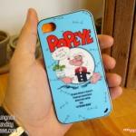 iPhone 4, 4S - เคส Face Idea ลาย ป็อบอาย POPEYE