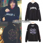 Hoodie VETEMENTS Total Fucking Darkness Sty.Bobby Holup -ระบุไซต์-