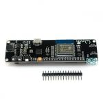 WeMos ESP-WROOM-02 + 18650 Battery Socket บอร์ด ESP8266 รุ่น ESP-WROOM-02 พร้อม socket แบตเตอร์รี่ 18650 และวงจรชาร์จในตัว