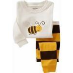 ชุดนอน Baby Gap แขนยาว ลายผึ้ง