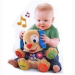 "เจ้าตูบ Tummy เสื้อม่วง ""Fisher Price ""Fisher-Price Laugh & Learn Learning Puppy"""