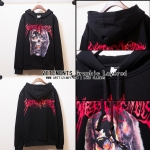 Hoodie VETEMENTS Graphic Layered 16ss -ระบุไซต์-