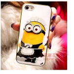 iPhone 4, 4S - เคส Face Idea ลาย Minion Maid (แม่บ้าน)