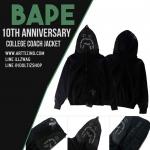 Jacket Hoodie A BATHING APE® 1ST TIGER SHARK 17ss -ระบุไซต์-
