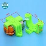 130 Plastic motor clip motor fixed bracket พลาสติกยึดมอเตอร์ขนาดเล็ก