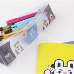 กระเป๋าใส่ดินสอ clear pencil case (พรีออเดอร์)
