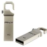PNY FLASH DRIVE Hook Attache 8GB