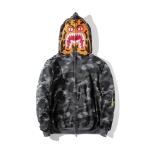 Jacket Hoodie A BATHING APE®HK TIGER SHARK CAMO Full Zip (BLACK) -ระบุไซต์-