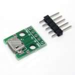 Micro B USB Breakout Board