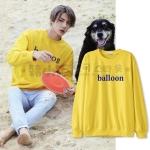 เสื้อแขนยาว balloon Sty. SEHUN HAPPINESS -ระบุสี/ไซต์-