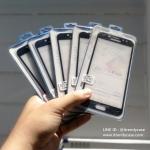 Samsung J7 Plus / J7 Pro (เต็มจอ/กาวเต็ม) - กระจกนิรภัย P-One FULL FRAME แท้