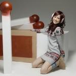 เดรสกันหนาว เกาหลี ถักทอลายกวาง สุดน่ารัก