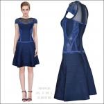 HV0936 / Preorder Herve Leger Dress Style พรีออเดอร์เดรสไตล์ Hervr Leger เดรสผ้ายืด ใส่สวยเน้นรูปร่าง แบบเก๋ทันสมัย สไตล์ดาราและเซเลบกำลัง HOT HIT