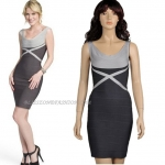 HV080 / Preorder Herve Legr Dress Style พรีออเดอร์เดรสไตล์ Hervr Leger เดรสผ้ายืด ใส่สวยเน้นรูปร่าง