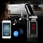 CAR Kit Bluetooth Car Charger FM แปลงเครื่องเสียงในรถให้ล้ำ