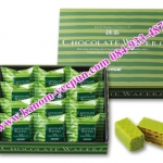 Royce Chocolate Wafers [Maccha Cream] 12 ชิ้น