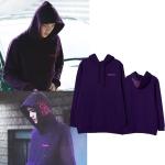 Hoodie Purple 3D Sty.Sehun -ระบุสี/ไซต์-