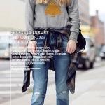 เสื้อกันหนาวผ้า Cotton พิมพ์ลายนกฮูก 2014 ( Preorder)