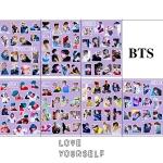 สติ๊กเกอร์พีวีซีเซต BTS LOVE YOURSELF MEMBER -ระบุสมาชิก-
