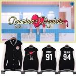 Jacket Basketbal Red Velvet Russian Roulette Member -ระบุสี/ระบุสมาชิก/ไซต์-