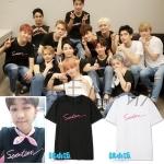เสื้อยืด SEVENTEEN Name in concert 2016 -ระบุสีไซต์-