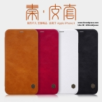 iPhone X - เคสฝาพับ หนัง Nillkin QIN Leather Case แท้