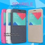 Samsung A5 (2016) - เคสฝาพับ Nillkin Sparkle leather case แท้