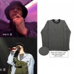 เสื้อแขนยาว Blackwhite stripes Sty.G-Dragon -ระบุไซต์-