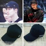 หมวก R.SHEMISTE BLACK แบบ SEHUN