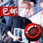 สร้อยข้อมือลูกปัดสีแดง แบบ Luhan