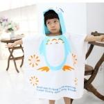 VIVO- BINIYA ผ้าเช็ดตัว ลายนกฮูก แพค 5ตัว (ยาว 120 กว้าง 60 ซม.)