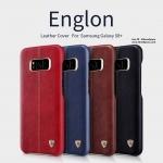 Samsung S8 Plus - เคสหลัง หนัง Nillkin Englon Leather Case แท้