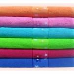 ผ้าขหนู Cotton100% 24*48นิ้ว 7ปอนด์ โหลละ 950 บาท ส่ง 10 โหล