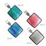 USB HUB B301-BL/GR/PI/SL
