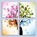 ภาพต้นไม้ เมเปิ้ล 4 ฤดู arthome258