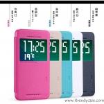 HTC Desire EYE - เคสฝาพับ Nillkin Sparkle leather case แท้