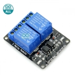 Arduino Relay Module 5V 2 ช่อง Relay module 10A 250V Active LOW สำหรับ Arduino