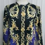 เสื้อ Apizode : เสื้อยืดพิมพ์ลาย คอกลมแขนยาว (ลายมัจฉาจีน)