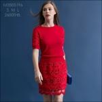 M5805196 / S M L / 2015 Hiend Design Fashion dress พรีออเดอร์เดรสแฟชั่นงานเกรดยุโรป สวยดูดีมีสไตล์ นางแบบใส่ชุดจริง เป๊ะเว่อร์!