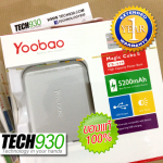 Yoobao Magic cube2 5200mAh ประกัน 1 ปีเต็ม